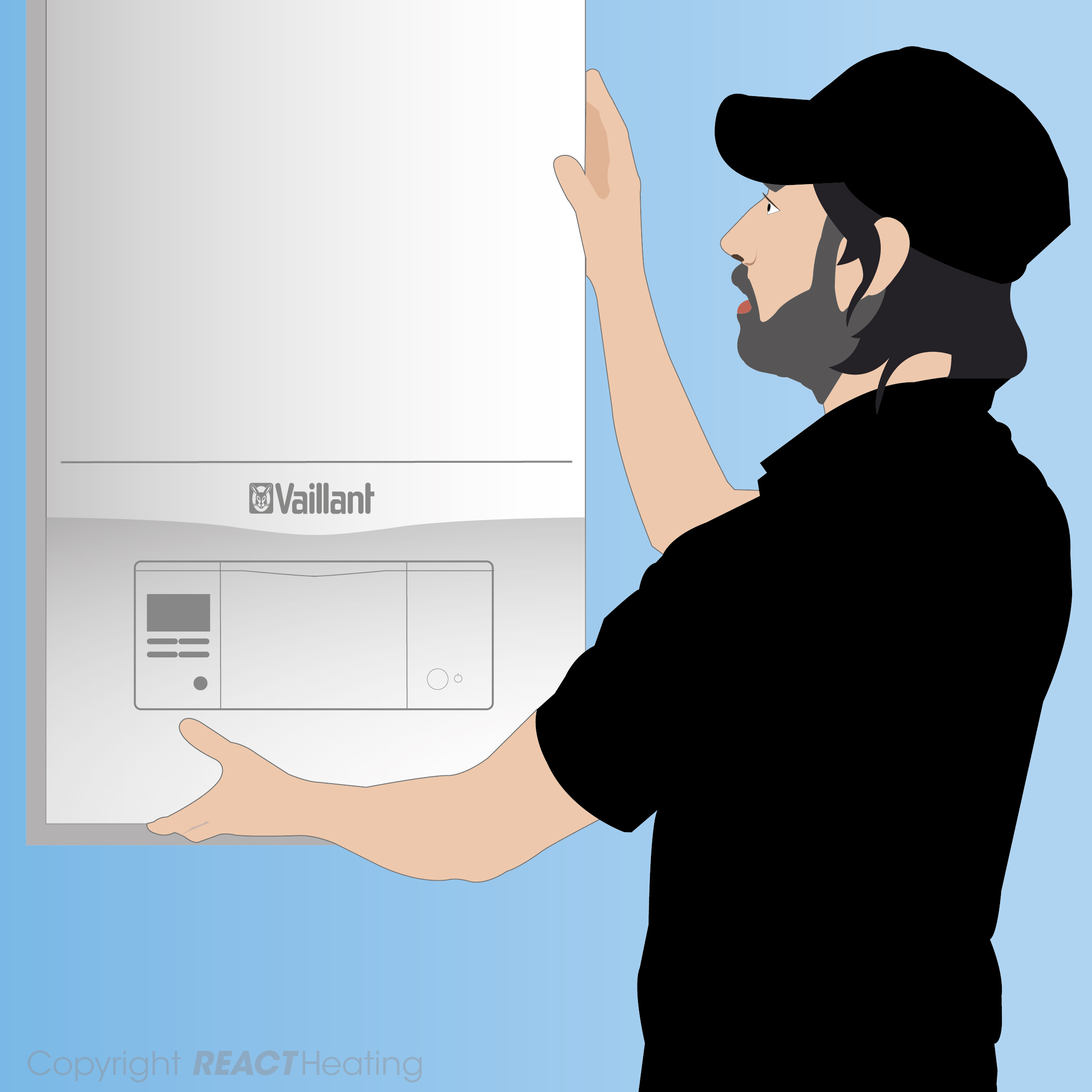 REACT Heating, one of the leading choices in Hemel Hempstead, Berkhamsted, Tring